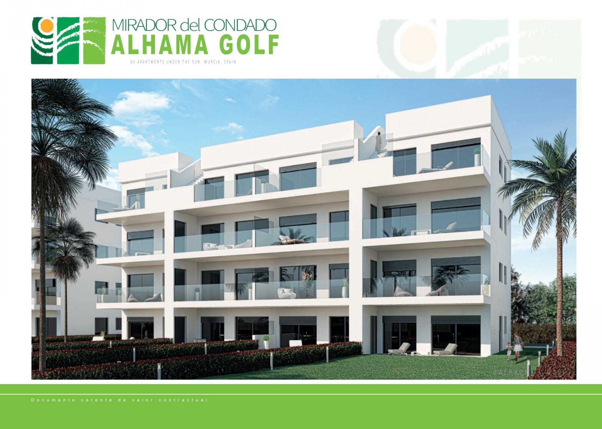 Appartement in Condado de Alhama