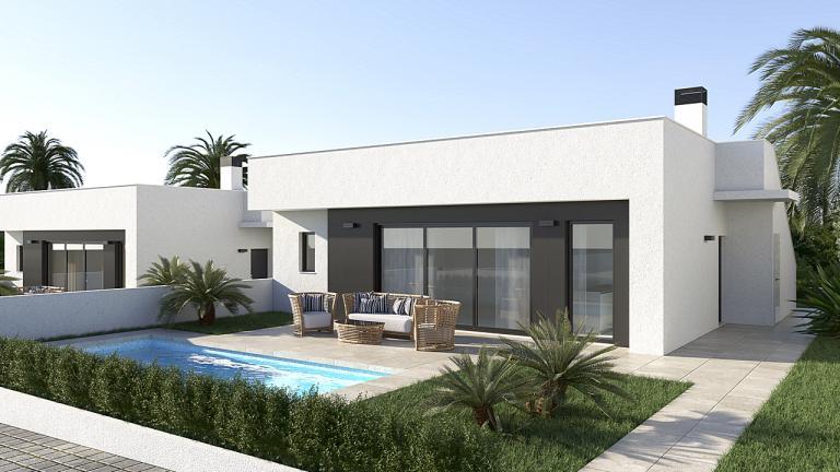 Nieuwe 3 slaapkamer 2 badkamer villa's - Murcia in Nieuwbouw Costa Blanca