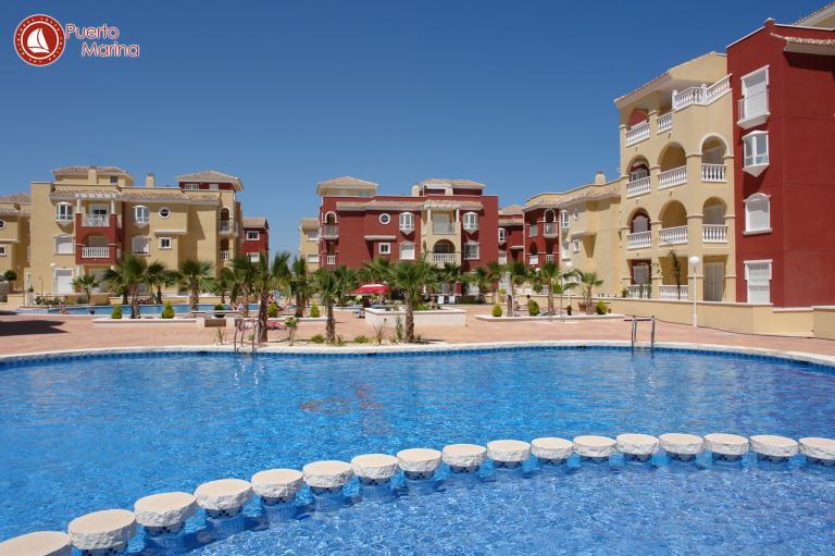 Top 2 slaapkamer 2 badkamer appartement in Mar Menor in Nieuwbouw Costa Blanca