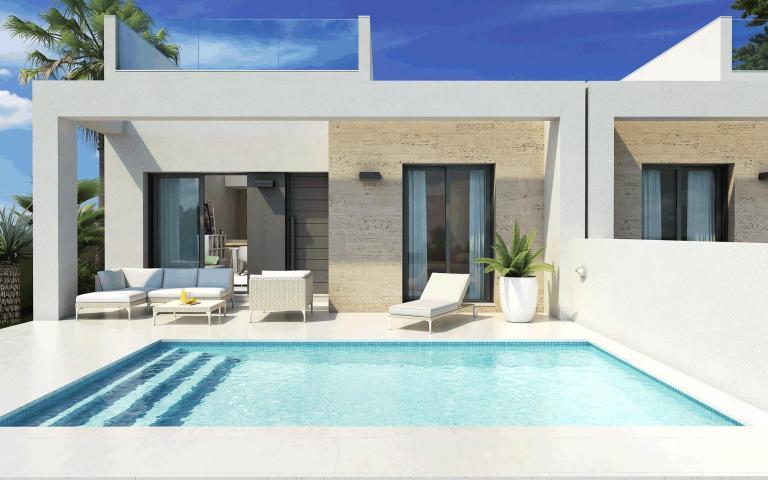 Compacte vakantie villas - bungalows met prive zwembad in Nieuwbouw Costa Blanca